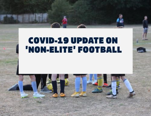 COVID-19 Update on Non-Elite Football