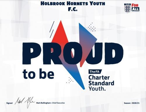 NEW: We are FA Charter Standard for 2020/21!